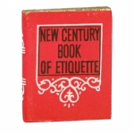 New Century Book Of Etiquette (Red)