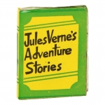 Jules Verne's Adventure Stories Book (Green)