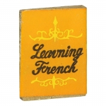 Learning French Book (Orange)