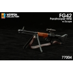 Fallschirmgewehr FG42 Assault Rifle with Scope (Black)
