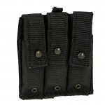 ABA MP5 Triple Magazines Pouch (Black)