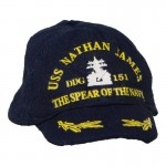 US Navy USS Nathan James DDG 151 The Spear Of The Navy Cap (Blue)