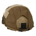 Base Jump Helmet with Cover (Coyote)
