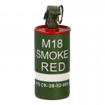 M18 Red Smoke Grenade (Green)