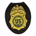 DEA US Special Agent Police Badge (Gold)