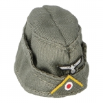 Heer Infantry Yellow Radio Forage Cap (Feldgrau)