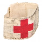 Worn Geneva Convention Medic Armband (White)