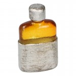 Medical Flask with Cup (Orange)