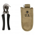 Diecast M38 Wire Cutters with Pouch (Grey)