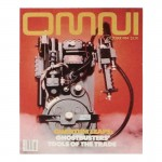 Omni Magazine Cover (Red)