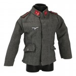 M40 Luftwaffe Fliegerbluse Jacket (Grey)