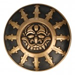 Diecast Shield (Gold)
