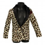 Satin Jacket (Leopard)
