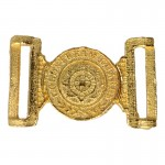 Diecast Coldstream Royal Guard Officer Belt Buckle (Gold)