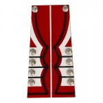 Irish Royal Guard Officer Tunic Tail (Red)