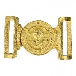 Diecast Grenadier Royal Guard Officer Belt Buckle (Gold)