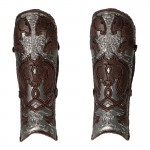 Rohan Knight Leg Armors (Brown)