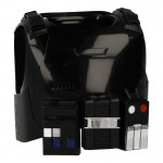 Body Armor with Life Support System (Black)