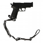 MK24 Mod0 Pistol with Sling (Black)