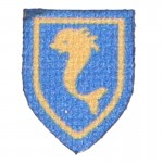 French 12th Cuirassiers Patch (Blue)