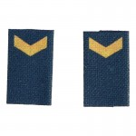 French Navy Petty Officer Shoulder Tabs (Blue)