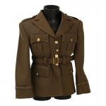 Officer Parade Jacket (Brown)