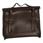 Leather Satchel (Brown)