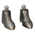 Diecast Kingsguard Knight Armored Shoes (Silver)