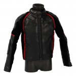 Extreme Off-Road Biker Jacket (Black)