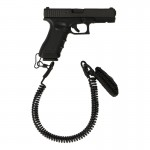 Glock 17 Pistol with Safety Lanyard (Black)