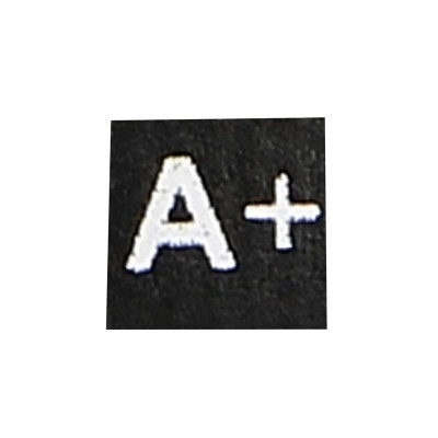 A Positif Blood Type Patch (Black)