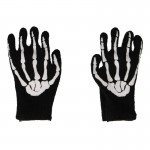 Skeleton Hands Gloves (White)