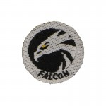 Falcon Patch (Grey)