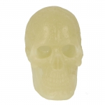 Glow In The Dark Cannibal Skull Headsculpt (White)