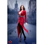 Female Trench Coat Set (Red)