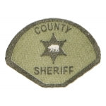 County Sheriff Patch (Khaki)