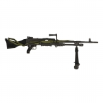 7,62mm GPMG L7A2 Machine Gun (Grey)