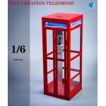 Diecast Telephone Booth (Red)
