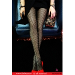 Female Fishnet Tights (Black)