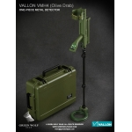 Diecast Vallon VMH4 Metal Detector with Case (Olive Drab)