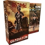 Empire Legion -  Empire Gladiator & Imperial Legion - Imperial Female Warrior (Black Version) Pack