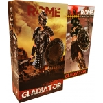 Empire Legion -  Empire Gladiator & Imperial Legion - Imperial Female Warrior (Red Version) Pack