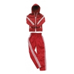 Female Windbreaker Set (Red)