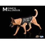 The Loyal Warrior - The Fighting Spirit Malinois Dog with Tactical Vest (Beige)