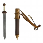 Diecast Gladio Sword with Scabbard (Brown)