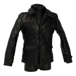 Leather Kriegmarine Jacket (Black)