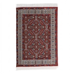 15x10cm Real Woven Carpet (Red)