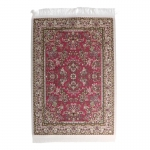 20x30cm Real Woven Carpet (Pink)