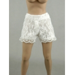 Female Lace Shorts (White)
