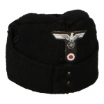 M42 Wehrmacht Panzer Side Cap (Black)